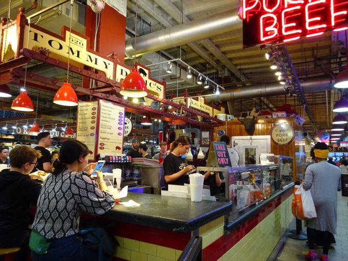 レディング・ターミナル・マーケットで地元グルメを食べよう!
