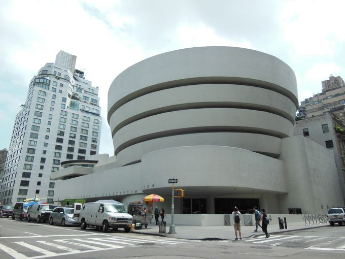 カタツムリの殻のような建物が圧巻!