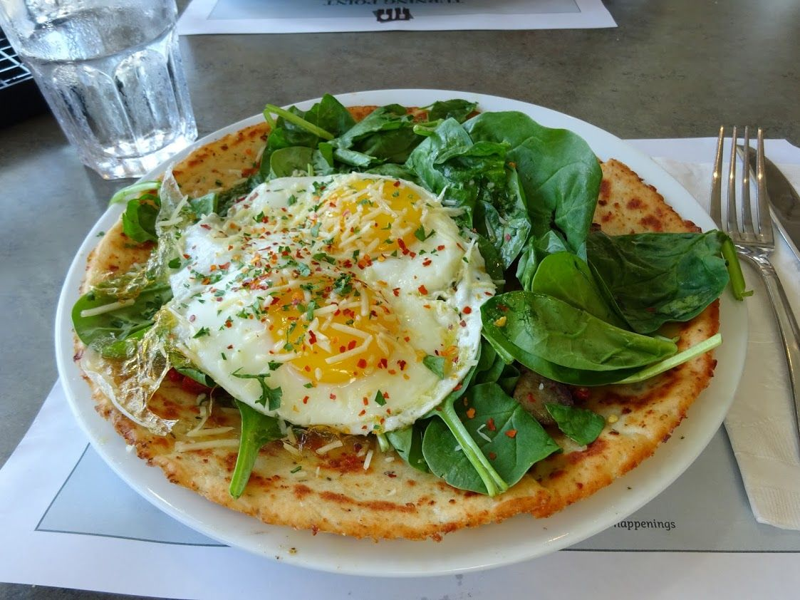 カリフラワーのピザ生地!人気レストラン「ターニングポイント」