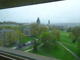 キャンパスに滝も湖も川もある!NY州イサカのコーネル大学