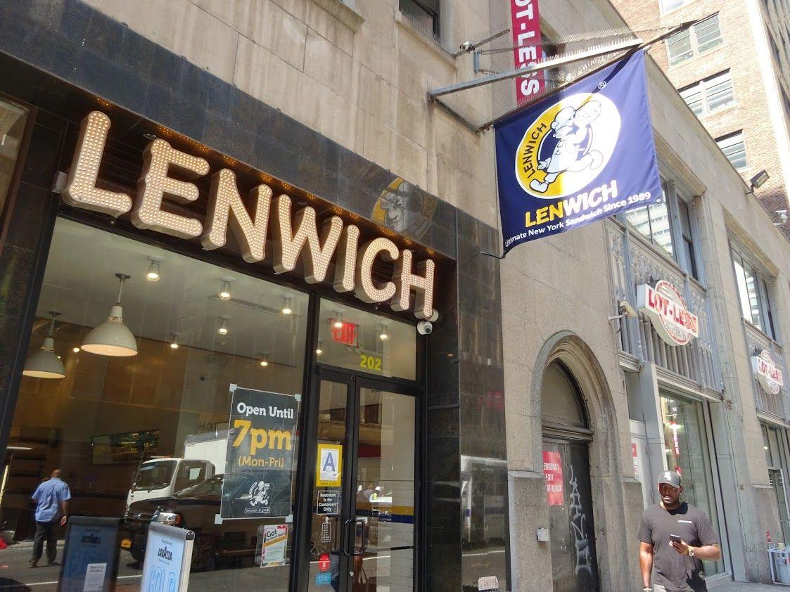 NYCの究極のサンドイッチ「レンウイッチ」!