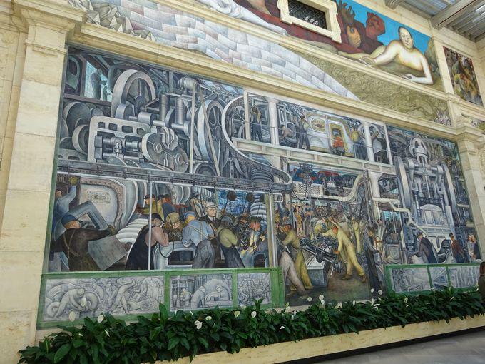 「デトロイト美術館」で絶対に見たい巨大壁画