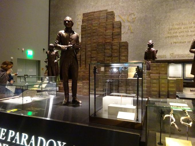 地階からスタート、黒人奴隷と公民権運動の歴史