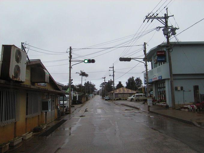 南大東島 唯一の信号機
