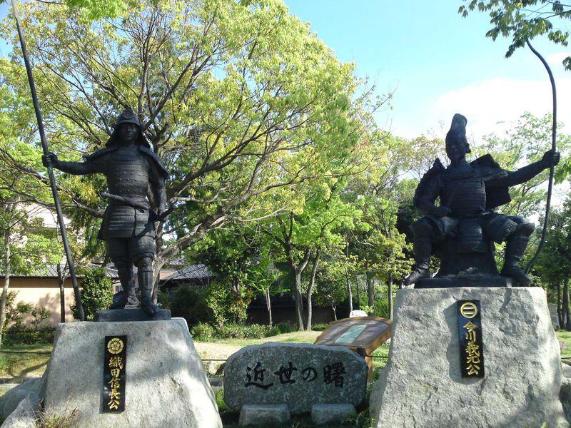 桶狭間の戦いの舞台と東海道の宿場町 名古屋市緑区桶狭間と有松宿を歩く旅