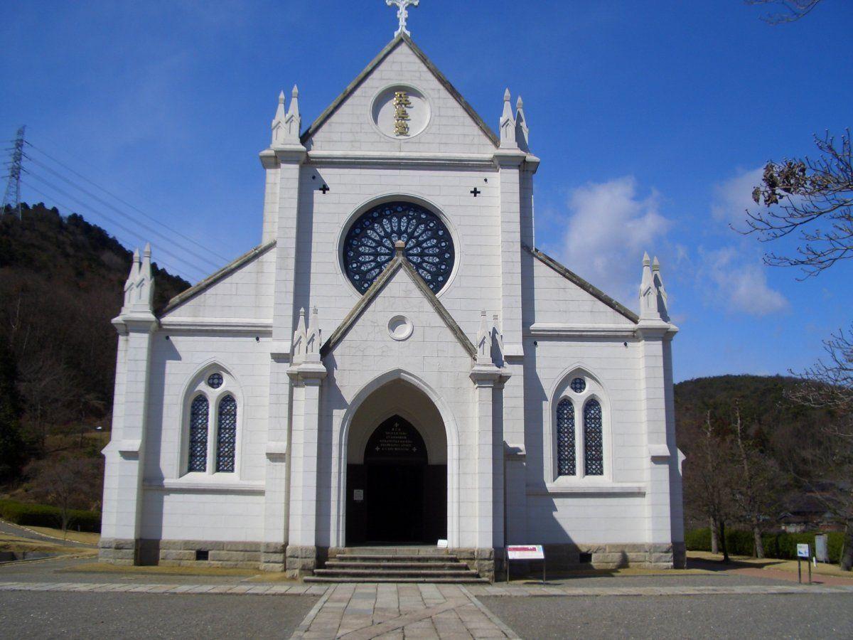 実際の結婚式にも使われる「聖ザビエル天主堂」