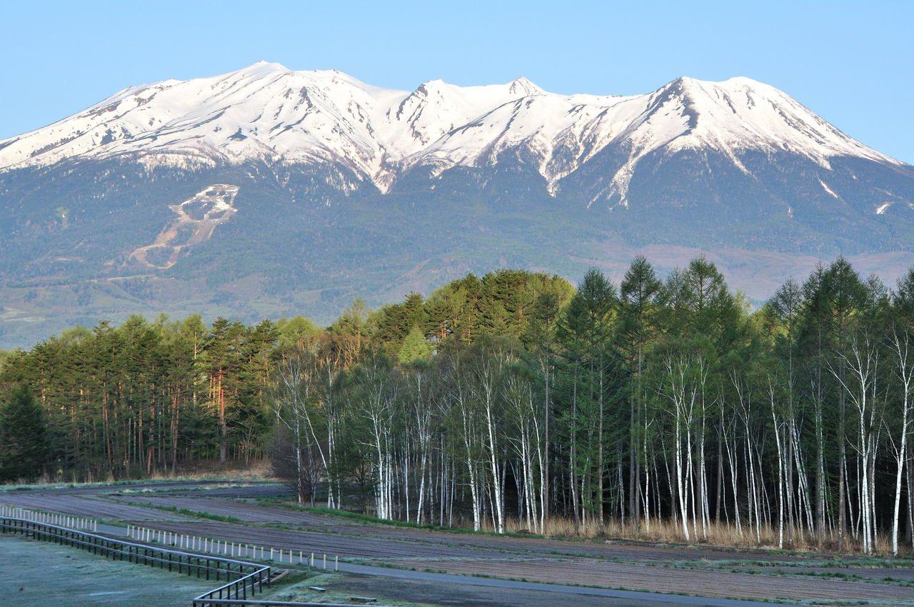 独立峰「御嶽山」標高3067m 日本で14番目に高い山です!