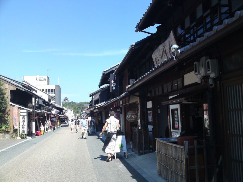 二つの国宝が見られる尾張の小京都 愛知県・城下町犬山