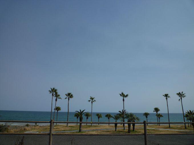 21世紀に残したい日本の自然百選に選ばれた「七里御浜」