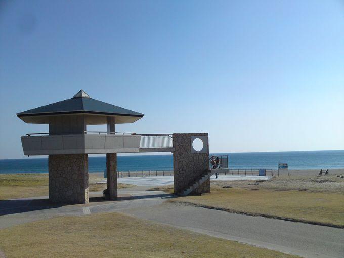 太平洋に面した道の駅で、雄大な大海原を見ながらのランチはいかが?
