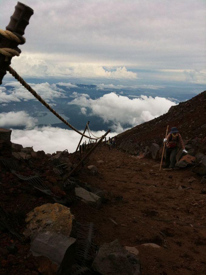 富士登山初心者は山梨側の吉田ルートを選択しよう