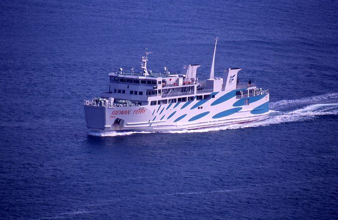 関西から伊良湖岬へは鳥羽からの「伊勢湾フェリー」が便利!