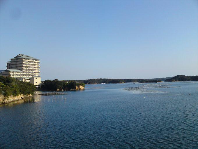 日本有数の真珠養殖の地「英虞湾」はおだやかなリアス式海岸