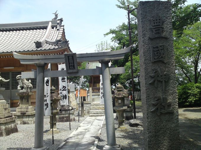大阪城の豊国神社から分祀した「豊国神社」もあります