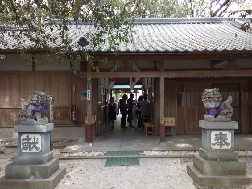 こちらも世界遺産 日本最古の神社「花の窟神社」