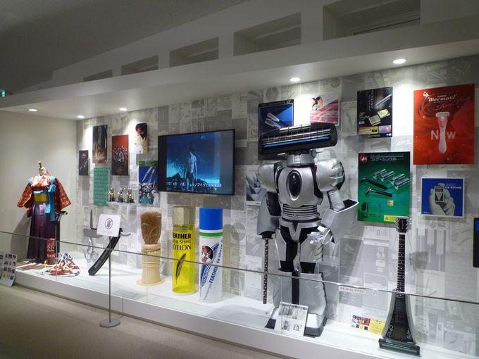 刃物総合博物館「フェザーミュージアム」も見学してみましょう