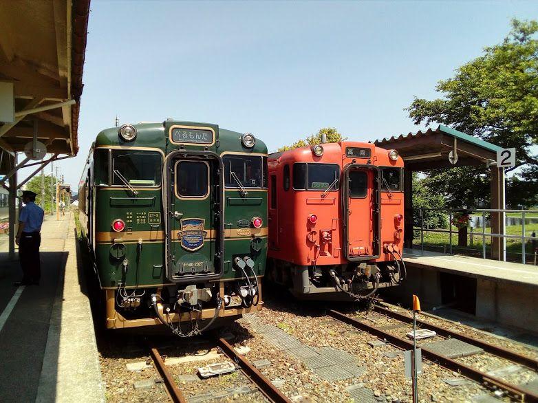 わずか1両のかわいらしい観光列車「べるもんた」