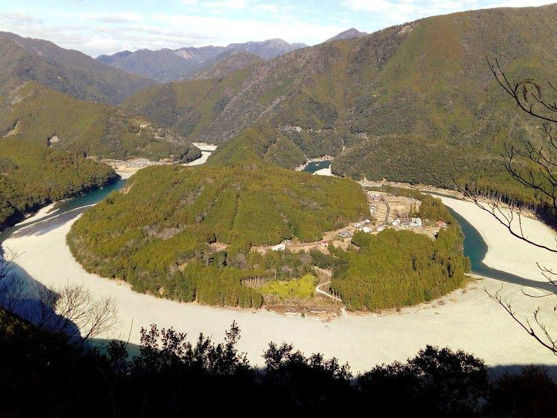 いよいよ「木津呂」集落が見える絶景スポットに!