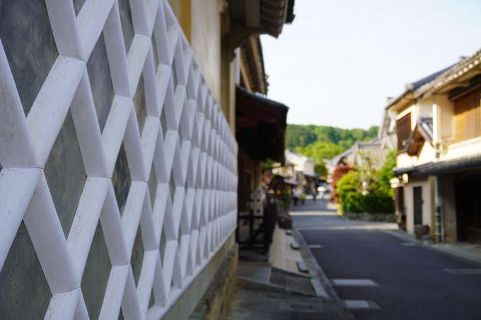 内子の重伝建地区の町並みにとけこむ古民家宿