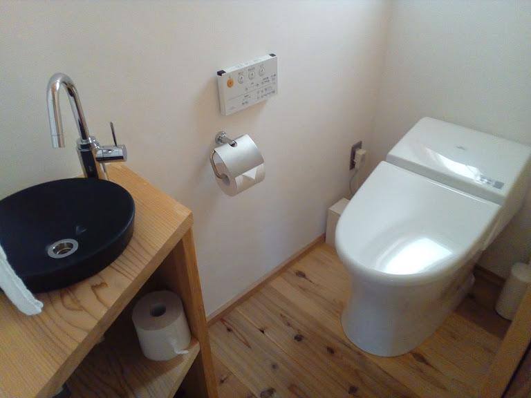 リノベーションされた快適なバスルーム&トイレ