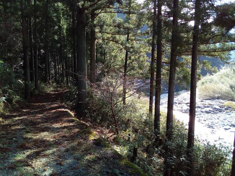 櫛田川を眺めながらしばし休憩