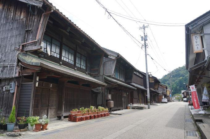 京や江戸に行く旅人が必ず通った今庄宿