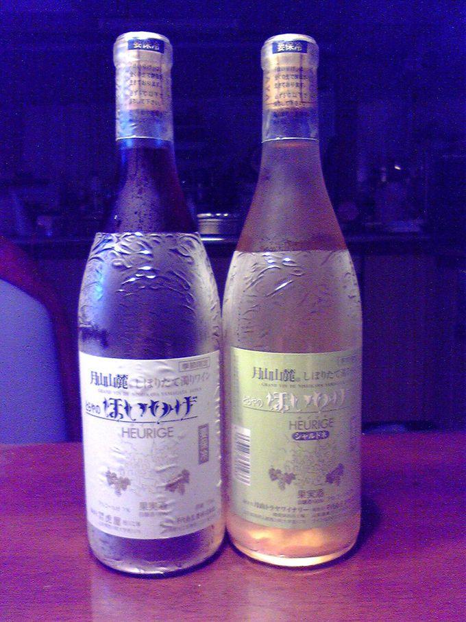 山形にある希少な「ホイリゲ」ワイン