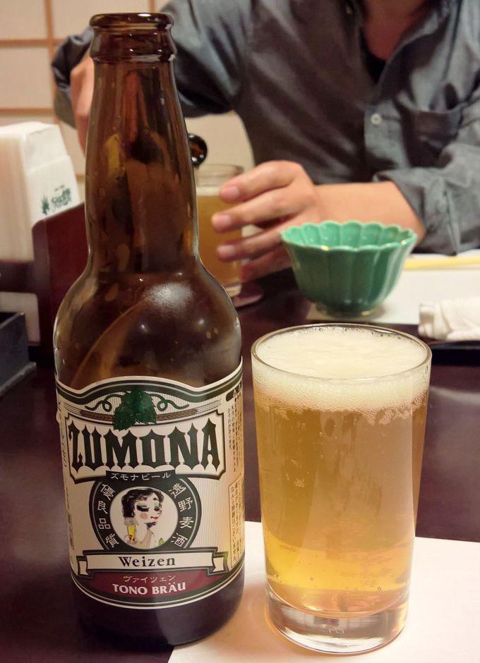 遠野産ホップを使った2つのビール醸造所