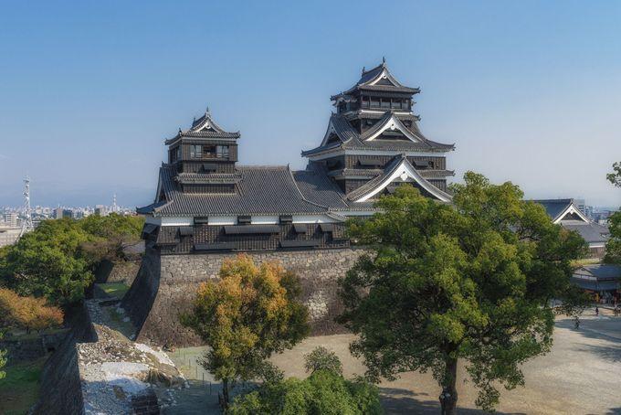 築城名人、加藤清正が築いた大城郭「熊本城」