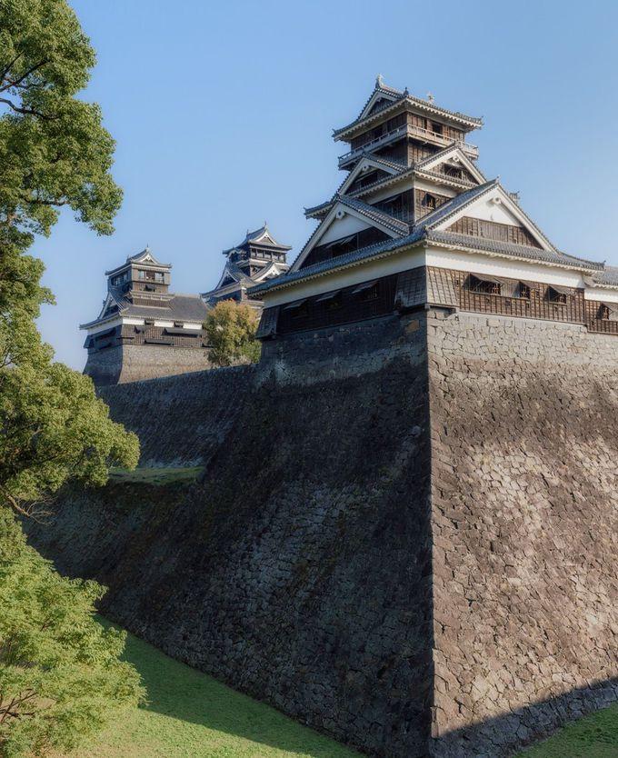 現存する三層櫓、第三の天守と呼ばれる「宇土櫓」へ