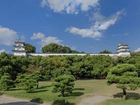 白亜の三重櫓が残る「明石城」と子午線の町「明石」を歩く