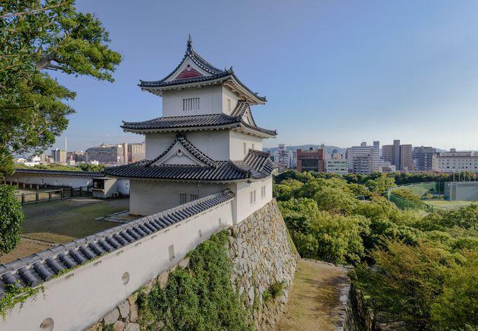 国の重要文化財・江戸期より現存の巽櫓と坤櫓