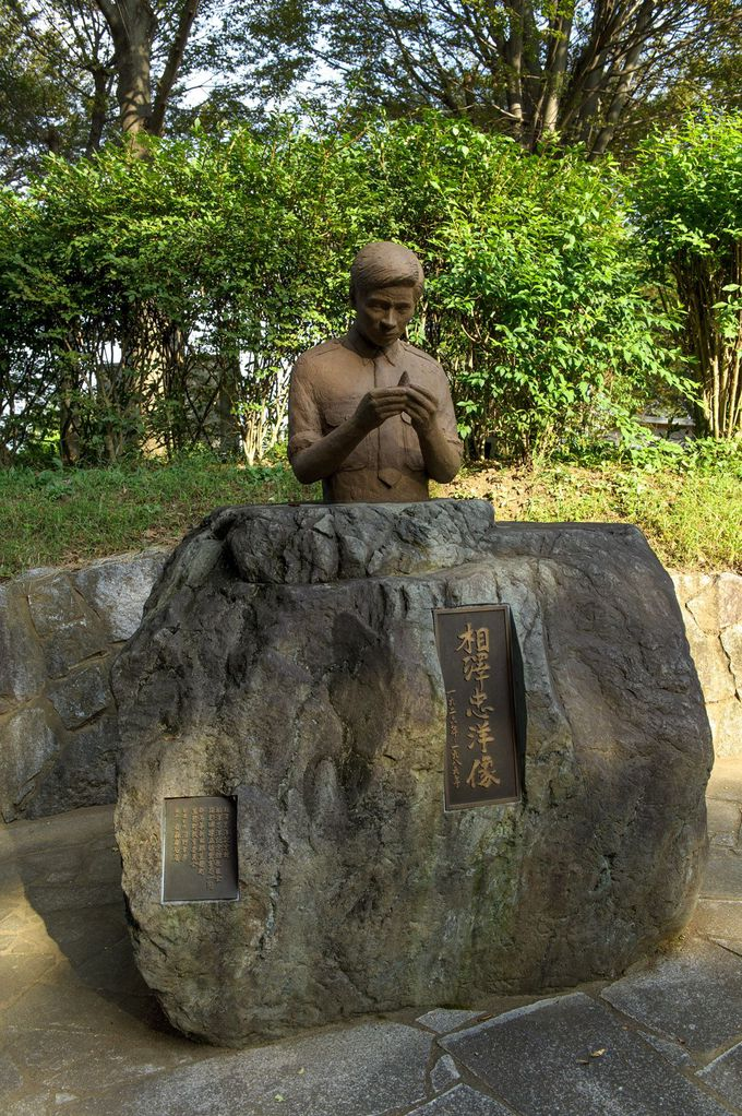 発見者・相沢忠洋の像が語りかけてくるもの