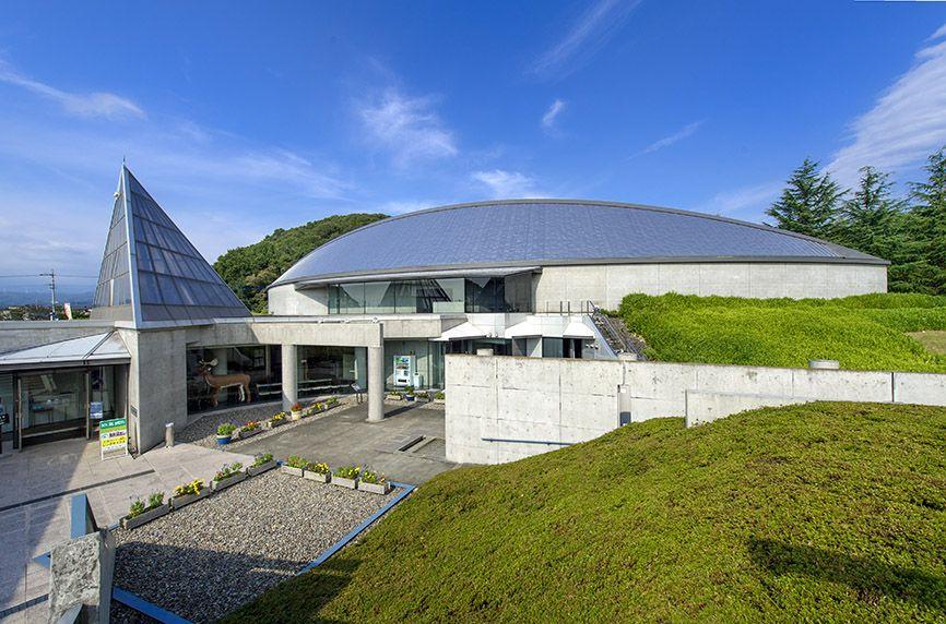 旧石器時代に特化した常設展示の「岩宿博物館」
