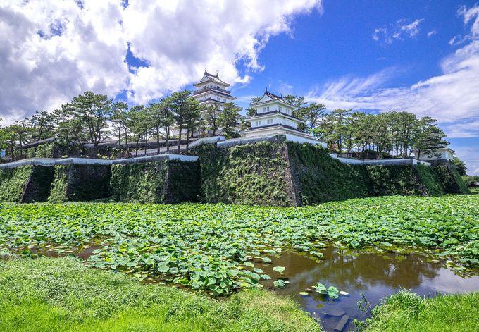 築城名手といわれた松倉重政により築かれた大城郭「島原城」