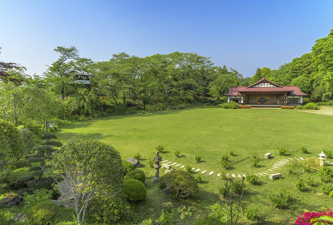 松尾芭蕉が旅の途中最も長く滞在した栃木県大田原市「黒羽城」