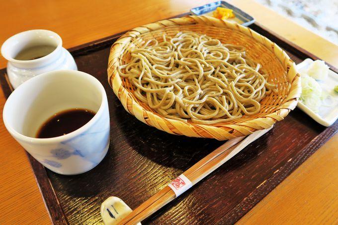 和風モダンな店でいただく翁達磨グループ「蕎麦 にしざわ」