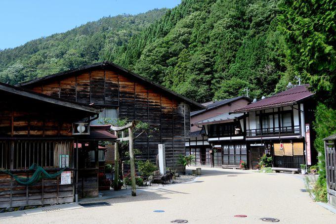 国の重要伝統的建造物群保存地区・奈良井千軒「奈良井宿」