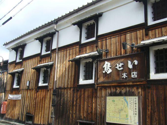 「白菊水」の湧く、酒蔵を改装したお店で銘酒神聖と鶏料理に舌鼓