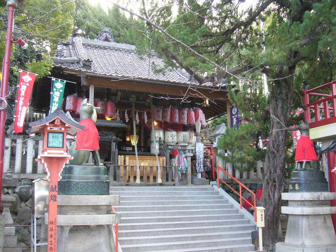 日本三大稲荷神社と言われる?「瓢箪山稲荷神社」