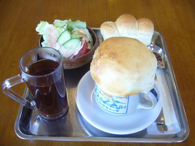 標高日本一のパン屋で有名「横手山頂ヒュッテ」