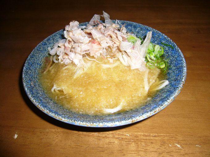 福井の郷土料理「越前おろしそば」は、名水「御清水」がポイント