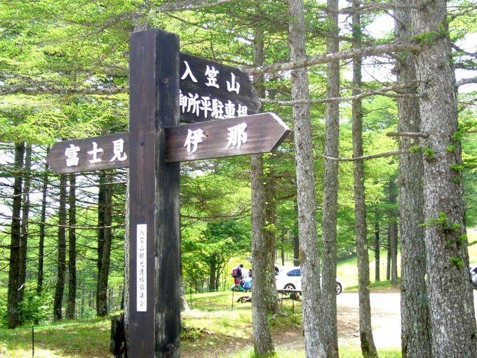 のんびりハイクを楽しみたい人におすすめ「入笠山」
