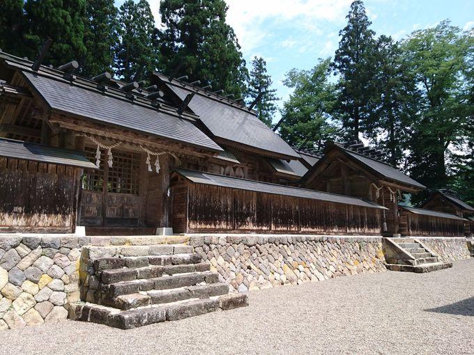 白山登山口の美濃馬場「長瀧白山神社」