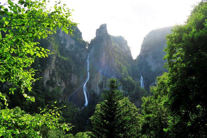 3.流星の滝・銀河の滝