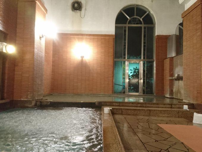 異国情緒溢れる幻想的なムードに夢心地、欧風大浴場「チニタの湯」