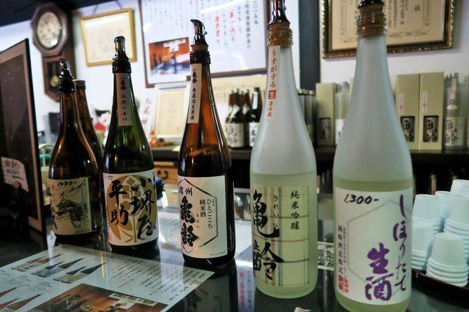 古き良き柳町を色濃く残す江戸時代から続く酒蔵「岡崎酒造」