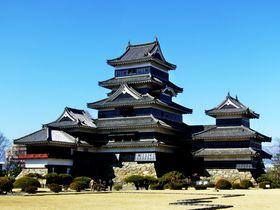 ミシュラン観光版で三ツ星を獲得!信州「松本城」の魅力を探る