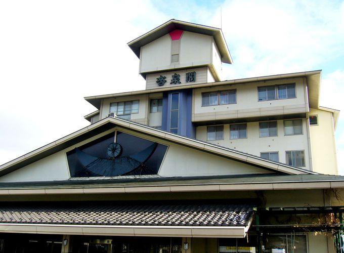 杏の一字をいただく一軒宿のぬくもり「稲荷山温泉ホテル杏泉閣」