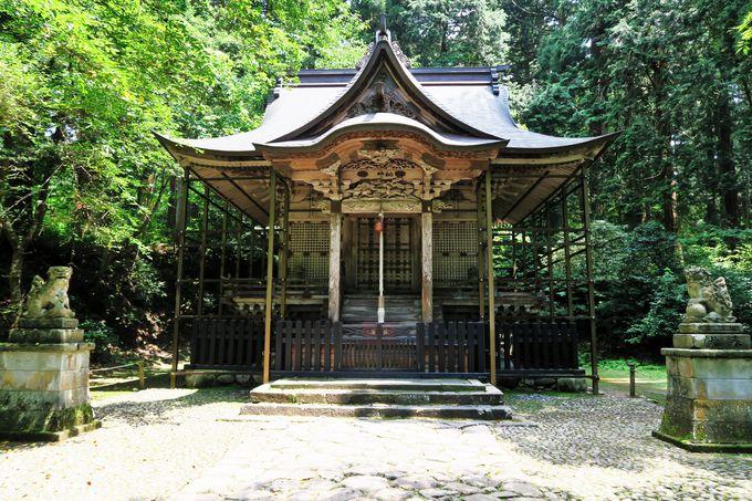 4.平泉寺 白山神社